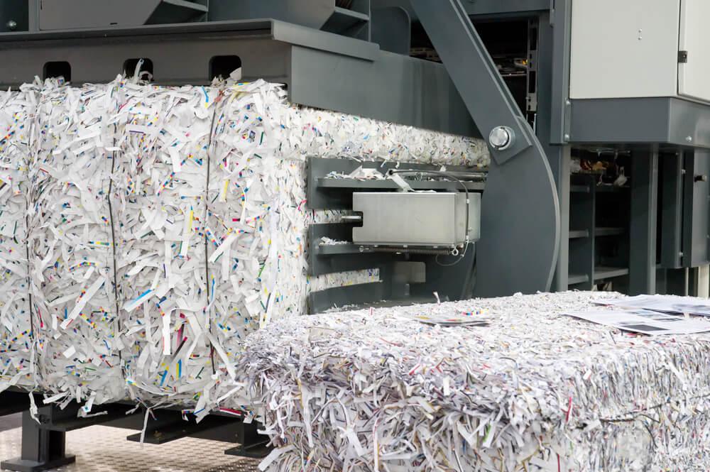 przemysłowa niszczarka do dokumentów