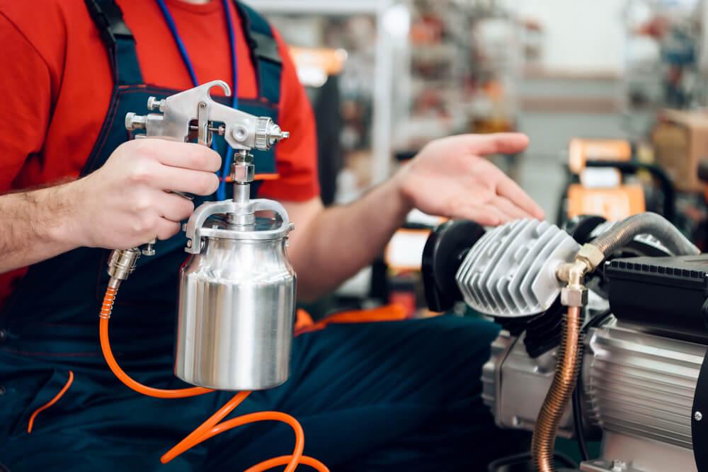 wydajność sprężarki powietrza